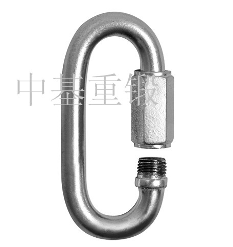 STANDARD GALVANIZED AND STAINLESS STEEL QUICK LINKS