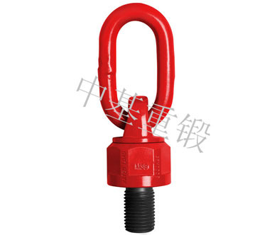 EYE SWIVEL HOIST LIFTING RING WITH BALL RACE BEARING